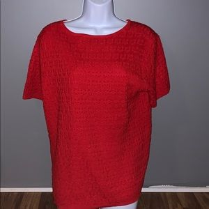 Red Alfred dunner shirt